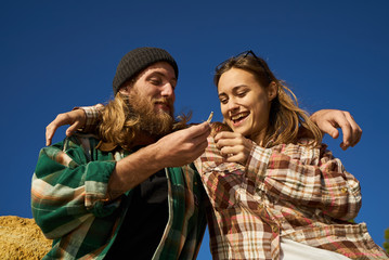 couple getting high