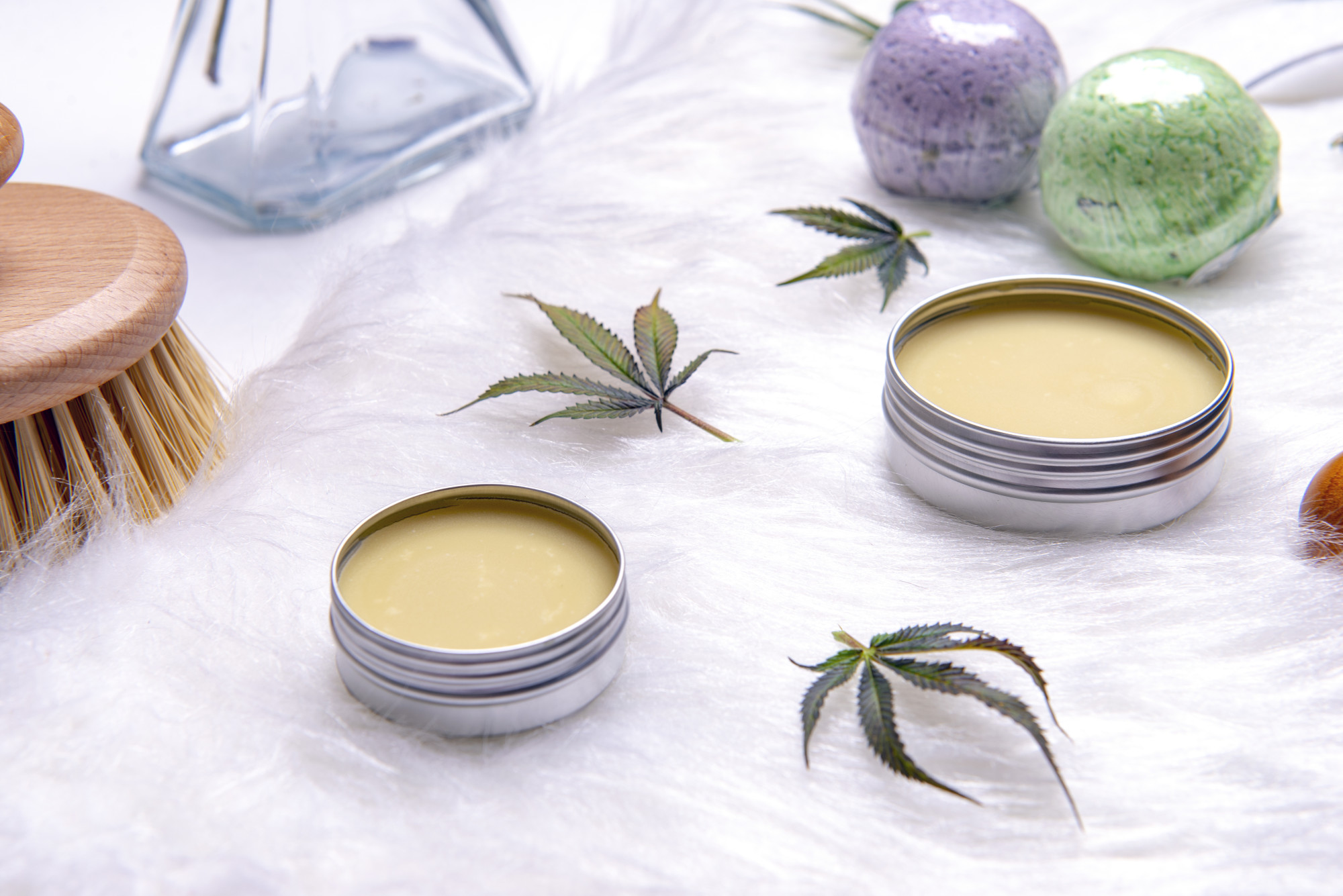 cbd skin cream containers